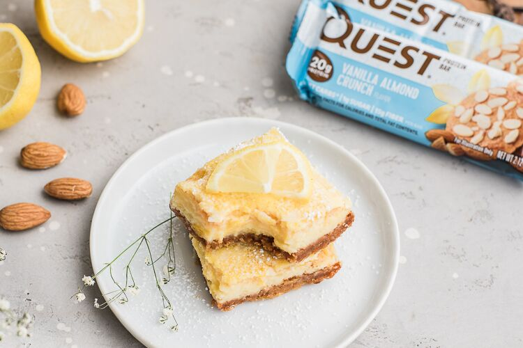 Indulge in the Sweet and Tart Taste of These Questified Lemon Bars!