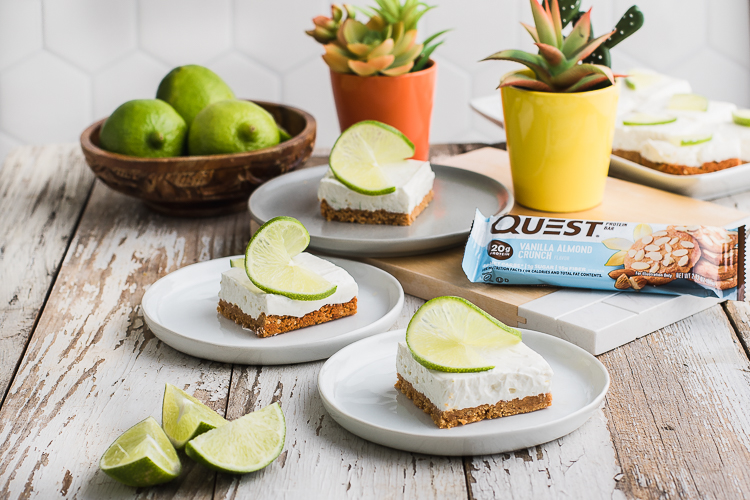 Cool Your Tastebuds With These Cinco De Mayo Lime Cheesecake Bars