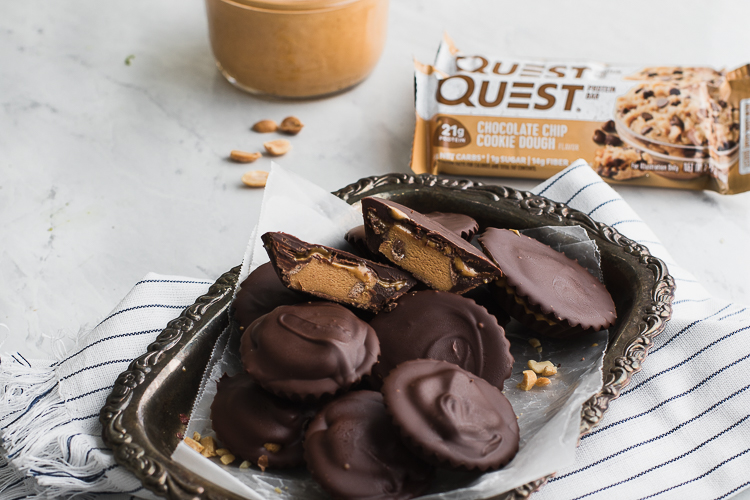 Enjoy These 4-Ingredient Peanut Butter Cookie Dough Cups (and Thank Us Later)