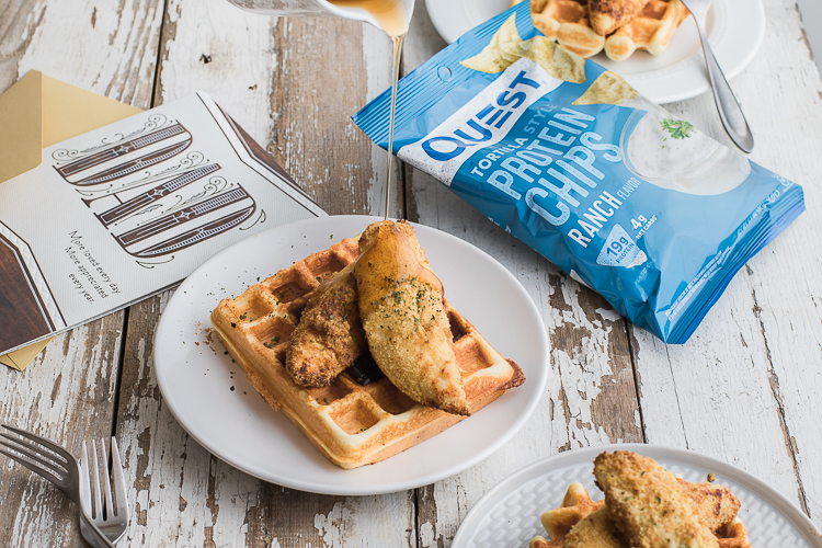 The Meal You've Been Waiting for: Questified Chicken & Waffles!