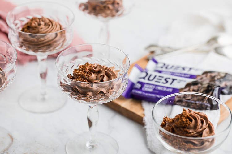 Take 20 Minutes and Treat Yourself To Some Protein Chocolate Mousse