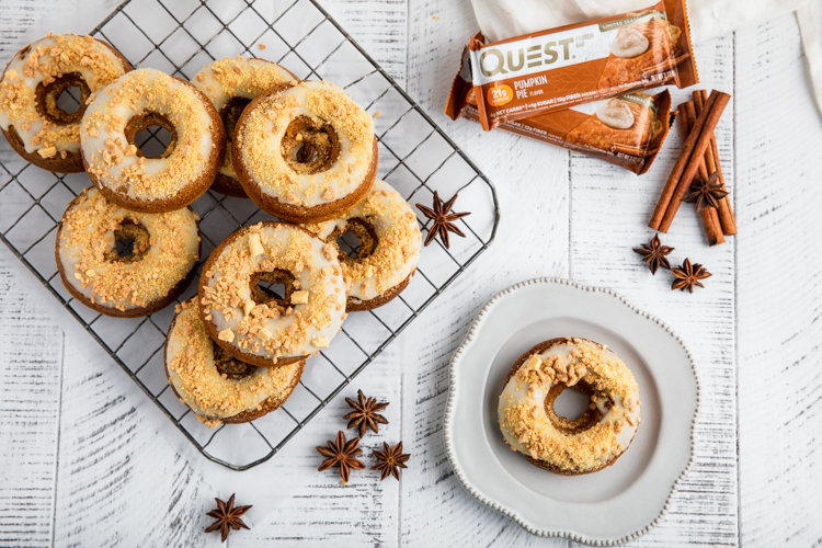 Kick Off the Season Right With These Pumpkin Maple Donuts