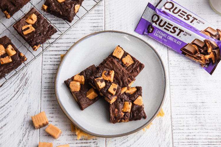 Your Tastebuds Will Melt For These Salted Caramel Brownies