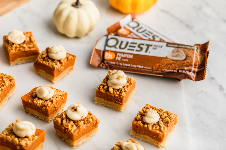 Make Room on the Table for These Purely Perfect Pumpkin Pie Bites