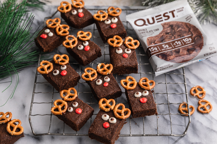 These Reindeer Brownies Will Guide Your Cravings Tonight