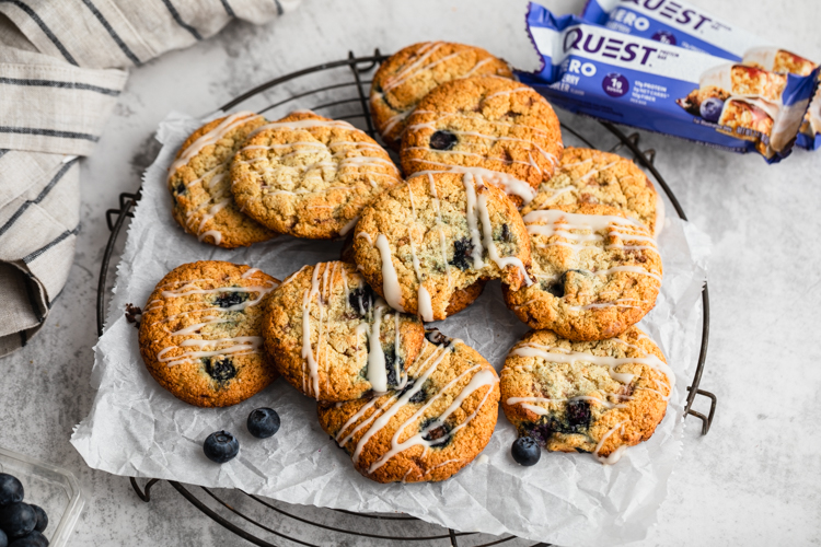 Remember to Let These Blueberry Cobbler Cookies Cool Before Enjoying Every Bite