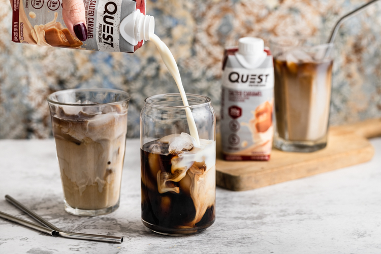 You Can Whip Up This Salted Caramel Cold Brew Recipe in Less Than Five Minutes