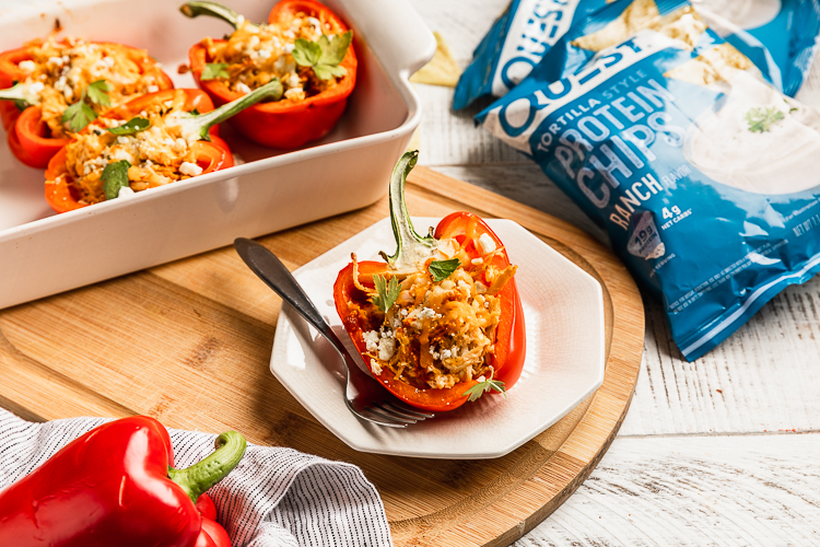 Get Your Fill With these Questified Stuffed Peppers