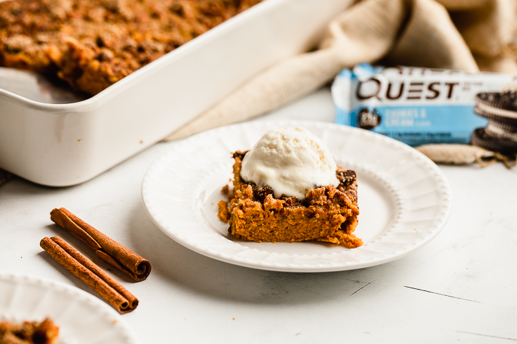Jump the Gun on Fall Flavors With this Delicious Pumpkin Crisp