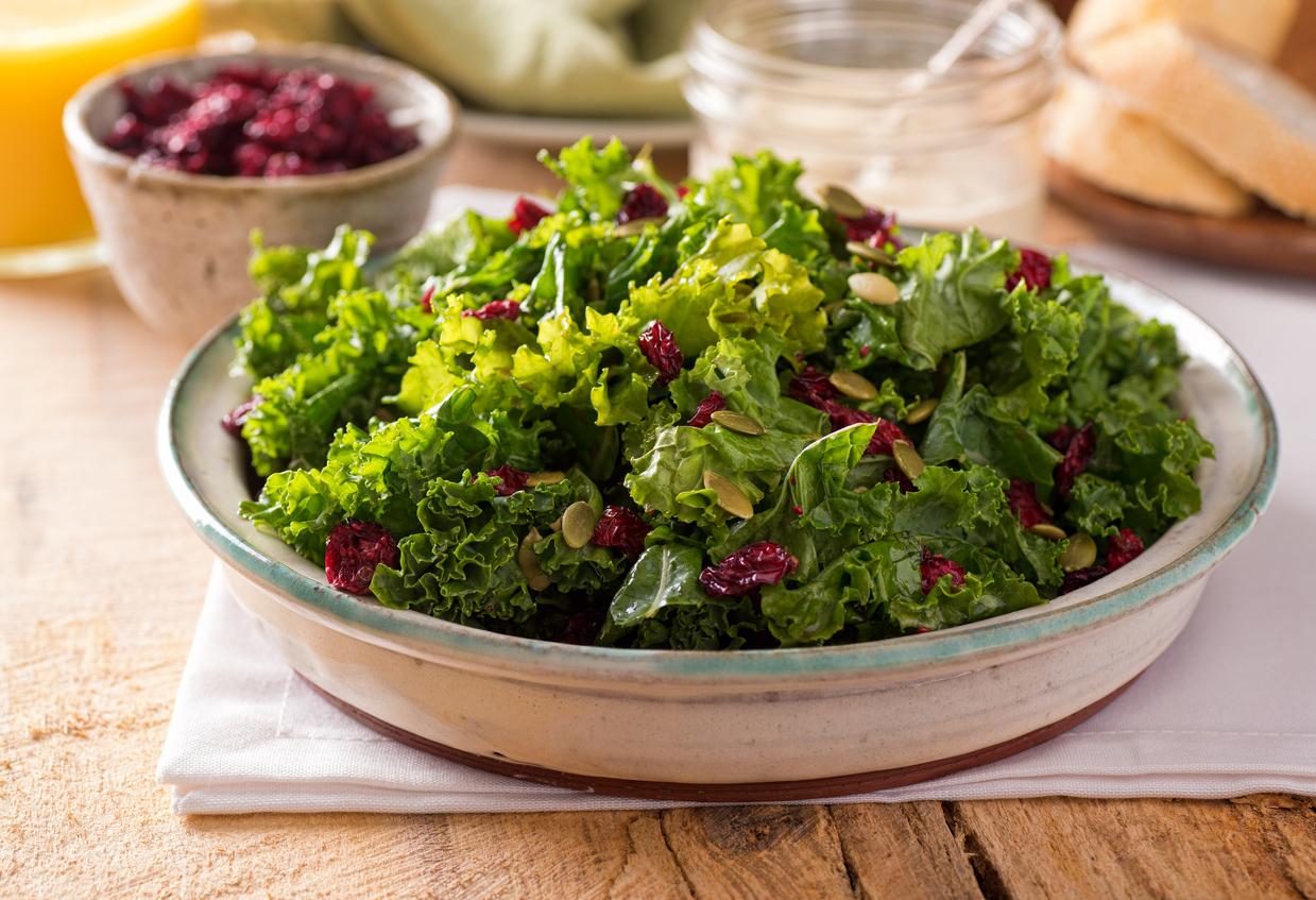ingredientes de ensalada no saludable