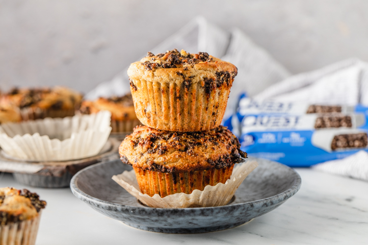 You Know It's Going to Be a Good Day When You Start Off With These Cookies & Cream Muffins