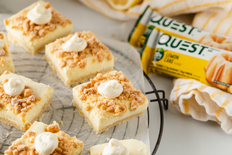 Nothing Is More Refreshing in the Hot Months Than These Lemon Cheesecake Bars