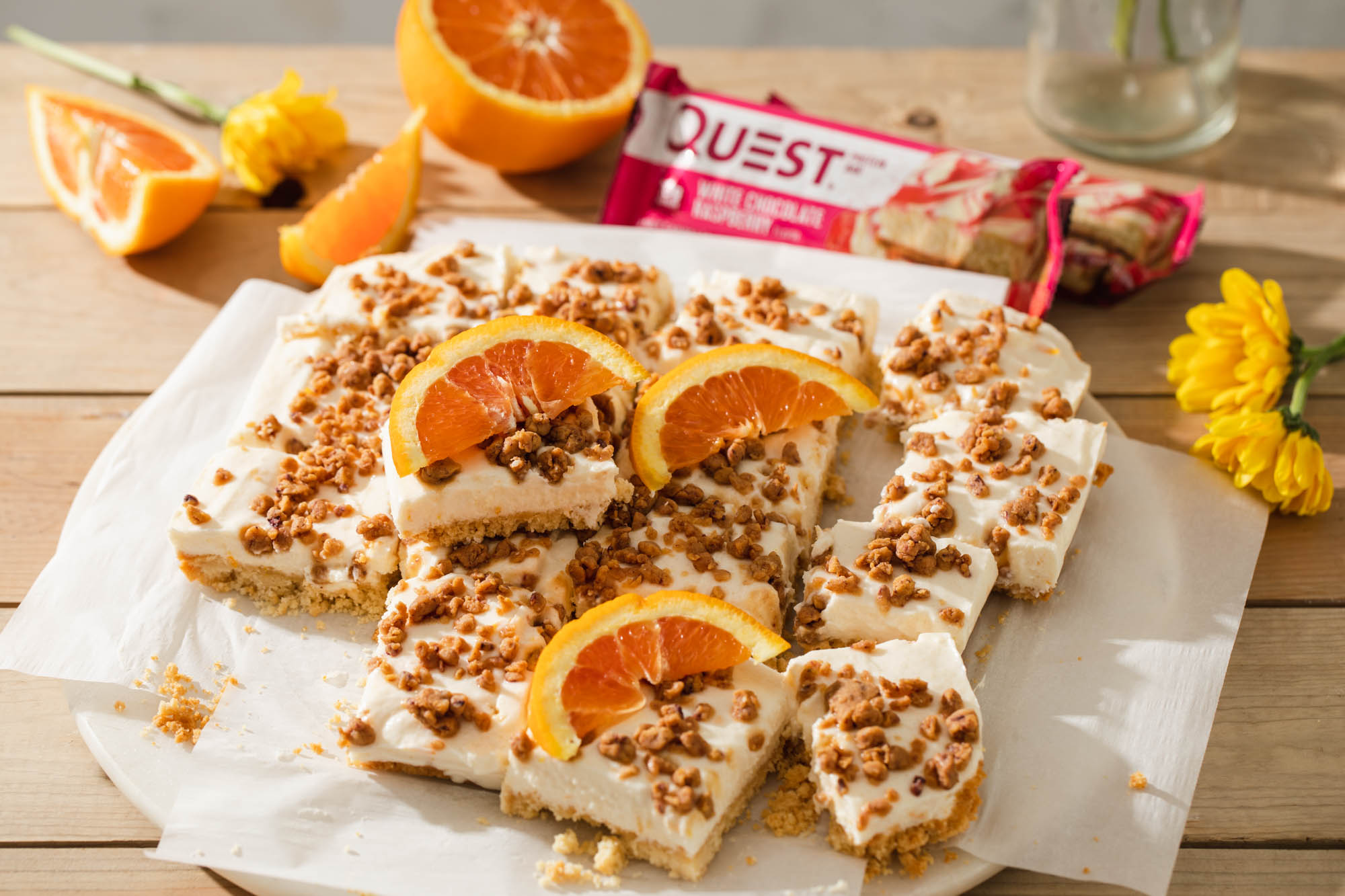 Move Over Lemon, These Orange Cream Bars Are Here to Citrus Up Your Summer