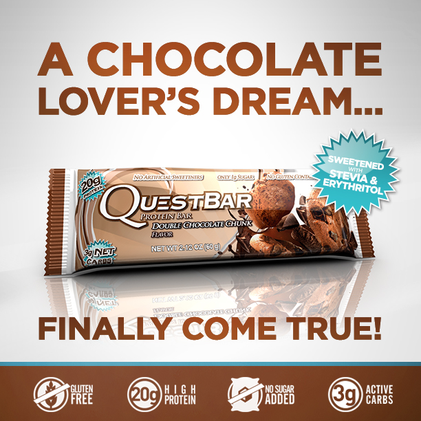 Quest Nutrition Releases Double Chocolate Chunk Quest Bar