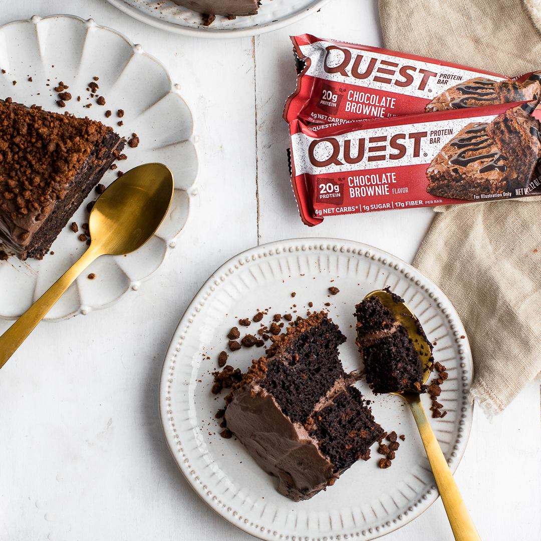 Completely Feed Your Chocolate Cake Cravings With This Quest Blackout Cake