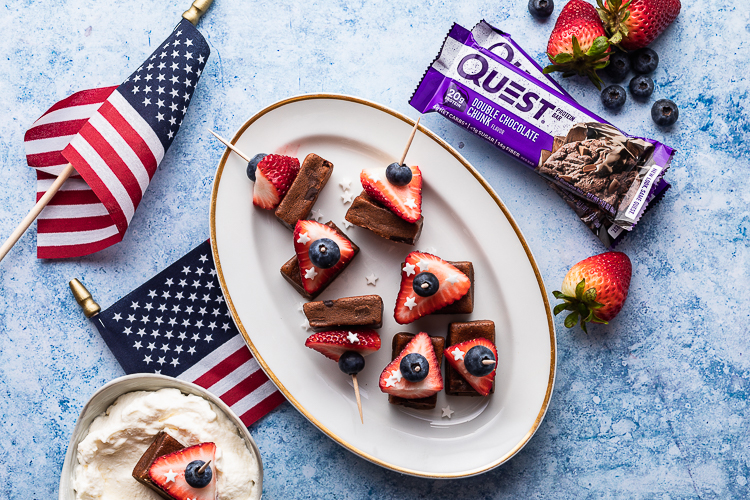 Put Down the Sparklers and Pick Up Our Double Chocolate Skewers This 4th of July